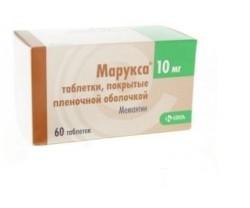 Марукса, табл. п/о пленочной 10 мг №60